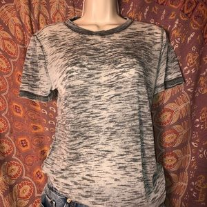 grey see through forever 21 tee
